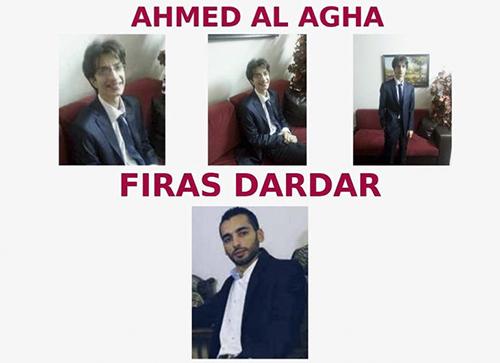 Năm 2016, Bộ Tư pháp Mỹ đã buộc tội ba công dân Syria tấn công hệ thống máy tính củaVăn phòng điều hành Tổng thống (EOP) và Thủy quân Lục chiến Mỹ. Một trong số đó đã bị bắt, trong khi hai cái tên còn lại là Ahmed al Agha và Firas Dardar nằm trong diện truy nã ở mức cao.