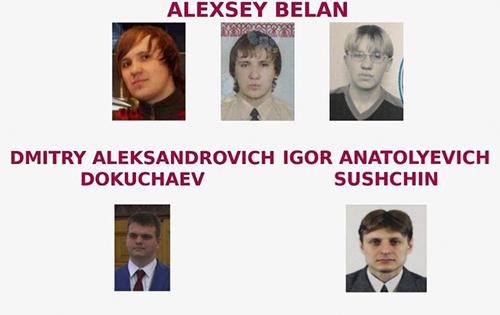 Tháng 3/2017, Bộ Tư pháp Mỹ đã buộc tội bốn hacker tấn công vào máy chủ Yahoo năm 2014 và đánh cắp thông tin của hơn 500 triệu người dùng. Nhóm này gồm Alexsey Belan, Dmitriy Aleksandrovich Dokuchayev, Igor suchin và một người khác có tên Karim Baratov. Riêng Baratow đã bị bắt tại Canada, dẫn độ về Mỹ năm ngoái và nhận mức án 5 năm tù.