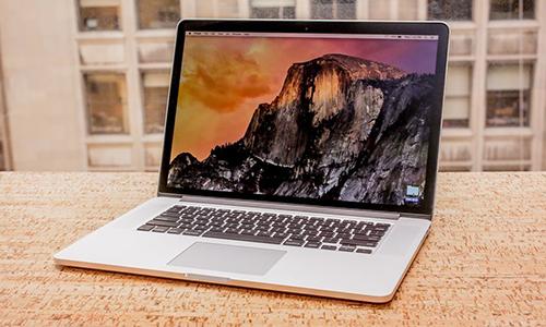 Một số MacBook Pro 15 inch được bán từ 9/2015 đến 2/2017 có thể bị lỗi quá nóng. Ảnh: Cnet
