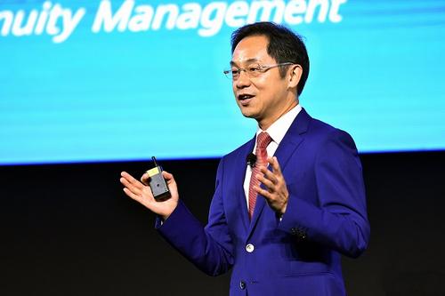 Ông Ryan Ding. Ảnh: Huawei.