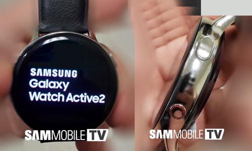 Thiết bị được cho là Samsung Galaxy Watch Active 2.