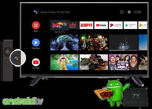 Dùng hệ điều hành Android, hỗ trợ điều khiển giọng nói nhưng Smart TV giá rẻ thường dùng phiên bản Android cũ, không được tối ưu như Android TV.