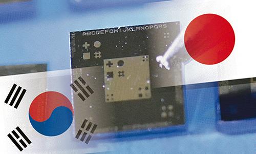 Cuộc chiến thương mại giữa Nhật Bản và Hàn Quốc có thể gây khó khăn cho Samsung, LG, Apple... Ảnh: Nikkei