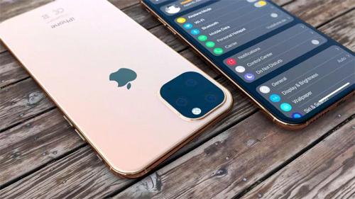 Ý tưởng iPhone 11 với camera vuông lồi của nhà thiết kế Hasan Kaymak.