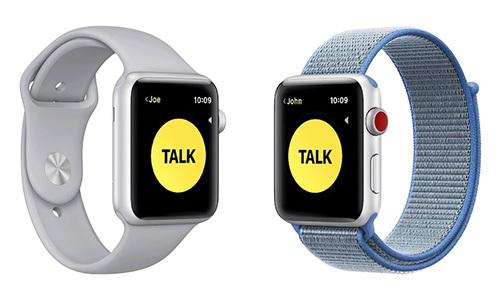 Tính năng Bộ đàm trên Apple Watch.