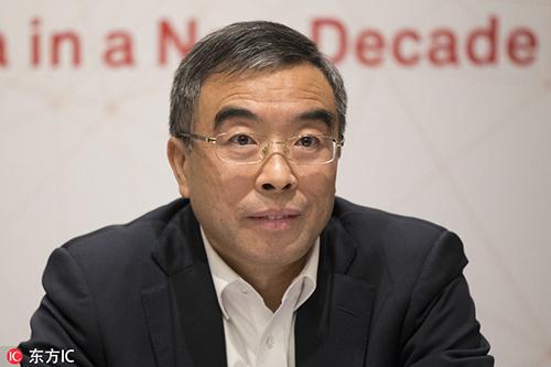 Chủ tịch Huawei Liang Hua. Ảnh: China Daily.