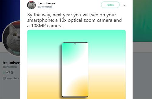 Các chuyên gia công nghệ nhận định năm sau sẽ có smartphone với camera 100 megapixel.