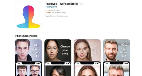 FaceApp tải ảnh lên Internet và sử dụng điện toán đám mây, AI để chỉnh sửa hiệu ứng.