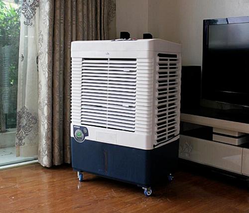 Quạt điều hòa được các siêu thị điện máy quảng cáo có thể giảm nhiệt độ phòngtới 15 độ.