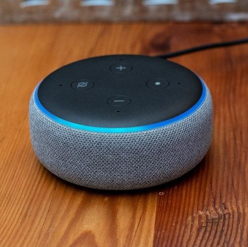 Loa Echo Dot liên tục lọt vào danh sách sản phẩm công nghệ bán chạy nhất hàng thángcủa Amazon. Ảnh: The Verge.