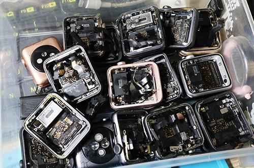 Lượng Apple hàng dựng được phát hiện ngày càng nhiều.