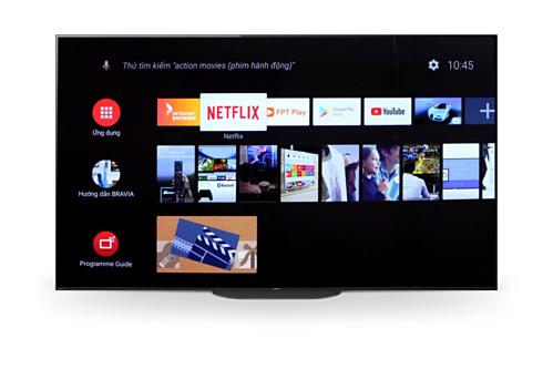 Netflix đánh giá cao khả năng xem phim trực tuyến trênTV Bravia.