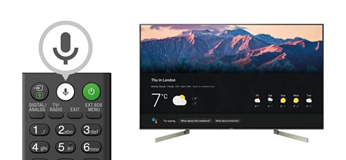 Micro tích hợp sẵn ngay trên remote kèm theo trợ lý ảo Google Assistant hỗ trợ người dùng tìm kiếm thông tin, truy cập nhanh các ứng dụng hoặc điều khiển các thiết bị Smart Home khác.