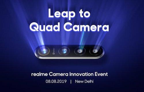 Sự kiện của Realme sẽ diễn ra ở New Delhi (Ấn Độ).