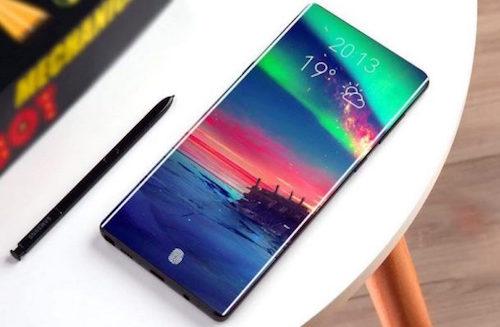 Một ảnh dựng về Galaxy Note10.