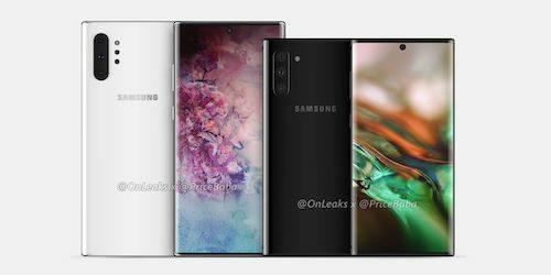 Galaxy Note 10 và Note 10+ lộ cấu hình trước ngày ra mắt.