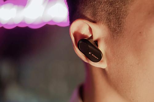 Khả năng chống ồn là điểm nhấn trên mẫu true wireless mới của Sony.