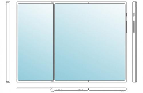 Smartphone hai mảnh, gập ba của LG