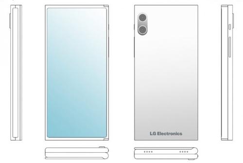 Smartphone hai mảnh, gập ba của LG - 1