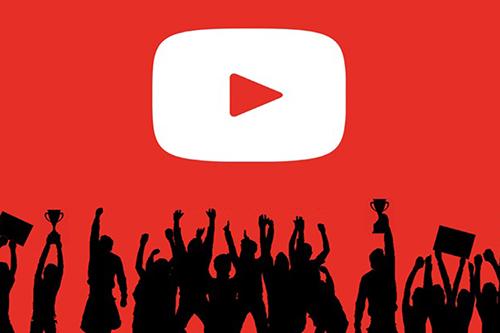 YouTube hiện là mạng xã hội có số lượng người dùng hàng đầu trên thế giới.