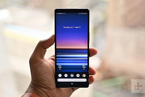 Sony Xperia X1 ra mắt đầu 2019 làsmartphone đầu tiên có màn hình OLED 4K. Ảnh:Digitaltrends.