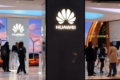 Một cửa hàng của Huawei tại Mỹ.