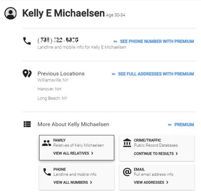 Chỉ với 5 USD, White Pages Premium cung cấp nhiều thông tin người dùng Mỹ thông qua số điện thoại.