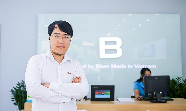Ông Trần Việt Hải, Giám đốc điều hành Bkav Electronics.