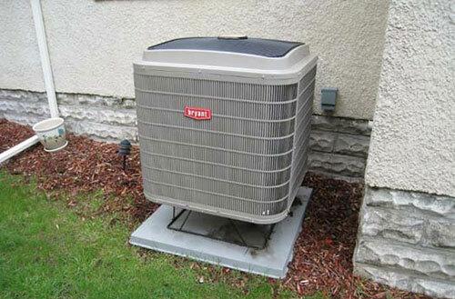 Không nên để cục nóng của điều hòa ở vị trí quá thấp.