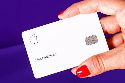 Thẻ tín dụng Apple Card. Ảnh:Business Insider