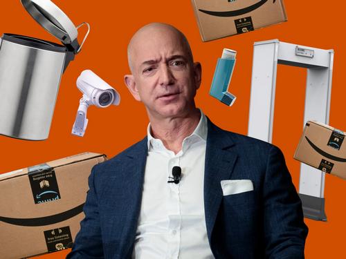 CEO Amazon Jeff Bezos. Ảnh: Business Insider.