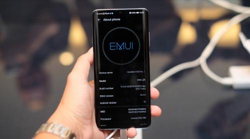 EMUI 10 sắp được phát hành trên Huawei P30 series.