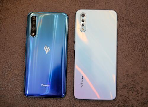 Vsmart Live và Vivo S1 là hai model nổi bật trong phân khúc vừa mới ra mắt.