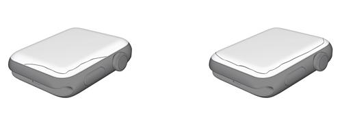 Lỗi nứt màn hình xuất hiện trên Apple Watch Series 2 và 3.