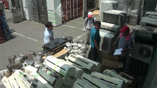 Những lô hàng điện tử nội địa Nhật cũ nhập lậu về Việt Nam