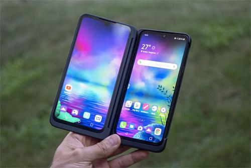 LG ra G8X ThinQ hai màn hình
