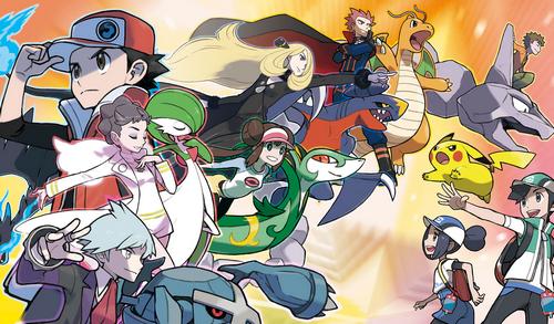Hình ảnh giới thiệu Pokemon Masters.
