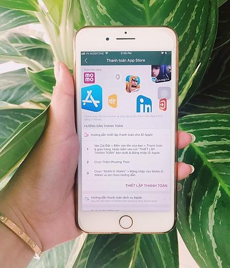 Kể từ 9/9, người dùng Ví MoMo có thể thanh toán các giao dịch trên App Store, Apple Music, ứng dụng Apple TV, iCloud và iTunes Store...