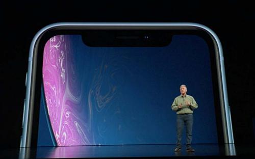 Sự kiện Apple ra mắt iPhone X năm 2017.
