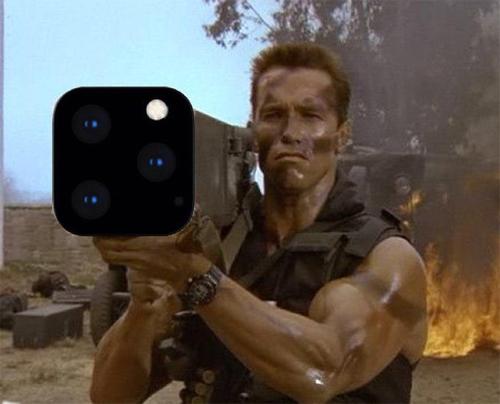 Người dùng Twitter chia sẻ đây là cảm giác của họ khi giơ iPhone 11 Pro Max lên để chụp ảnh