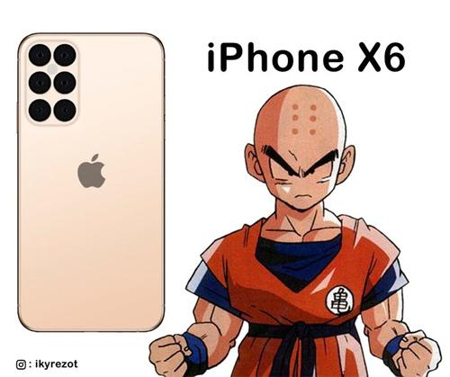 iPhone phiên bản Bảy viên ngọc rồng.