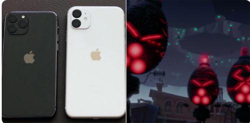 Camera trên iPhone 11 và 11 Pro giống như đội quân ngoài hành tinh trong phim Chicken Little.