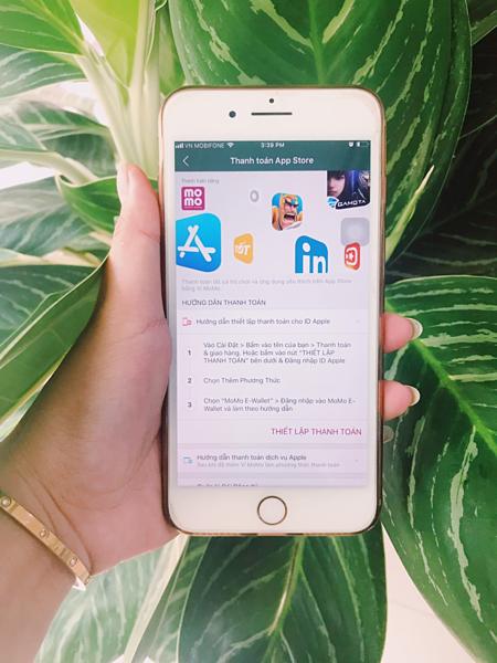 Người dùng có thể quản lý thông tin thanh toán cho ID Apple trong mục Cài đặt trên iPhone, iPad và iPod touch, hoặc trên máy Mac hay PC.