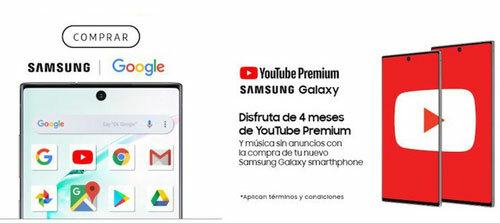 Samsung gửi email mời khách hàng tận hưởng dịch vụ và ứng dụng Google.