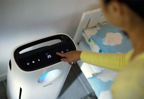 Nên đặt máy ở vị trí thoáng, có thể lưu thông không khí tốt để tăng hiệu quả hoạt động.
