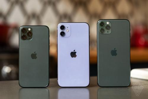 Lượng đặt trước iPhone 11 đang tăng nhanh tại Thế Giới Di Động. Ảnh: The Verge.