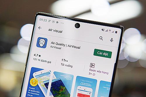 Ứng dụng AirVisual xuất hiện trở lại trên các kho ứng dụng tại Việt Nam.