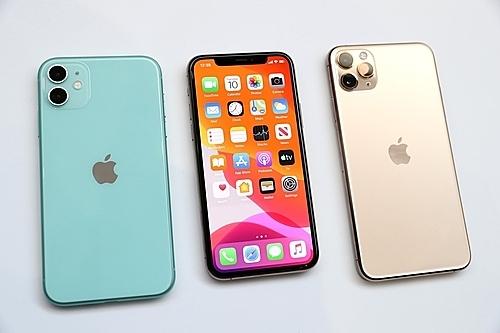 iPhone 11, 11 Pro và 11 Pro Max. Ảnh: Futurecdn.
