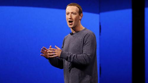 CEO Facebook Mark Zuckerberg. Ảnh: CNBC.