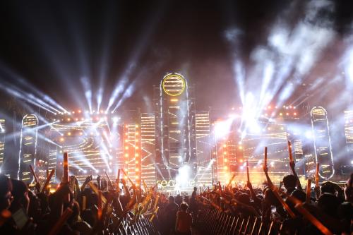 Đại nhạc hội Realme diễn ra vào ngày 03/10 vừa qua tại Khu A KTX Đại học Quốc gia TP.HCM quy tụ gần 50.000 người tham dự
